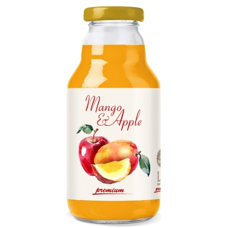 Lei Premium Mango & Apple Juice
