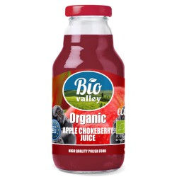 Organic Apple & Chokeberry Juice