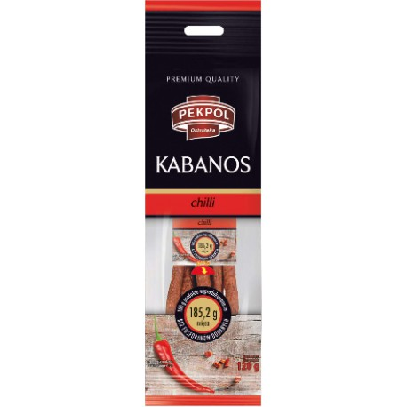 Kabanos with Chilli 120g