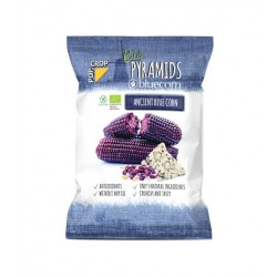 Organic Bluecorn Pyramids crisps