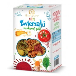 Durum BIO Pasta for KIDS - Animals (250g)