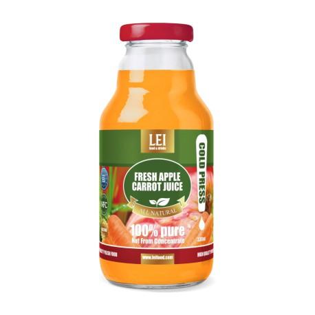 Fresh Apple Carrot Juice