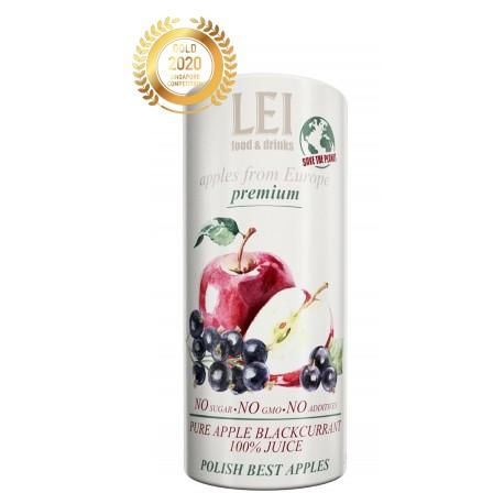 100% NFC Apple Blackcurrant Juice 230 ml CartoCan