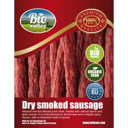 Organic Dry Smoked Sausage